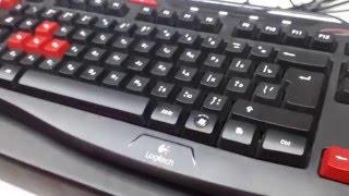 Клавиатура Logitech G103 Gaming - обзор