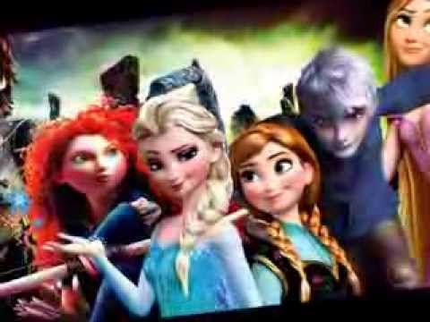 Opinion, this Frozen and tangled combined consider