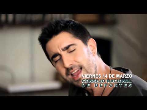 """Spot Alex Ubago """"Grandes Éxitos Tour"""" en Asunción"""