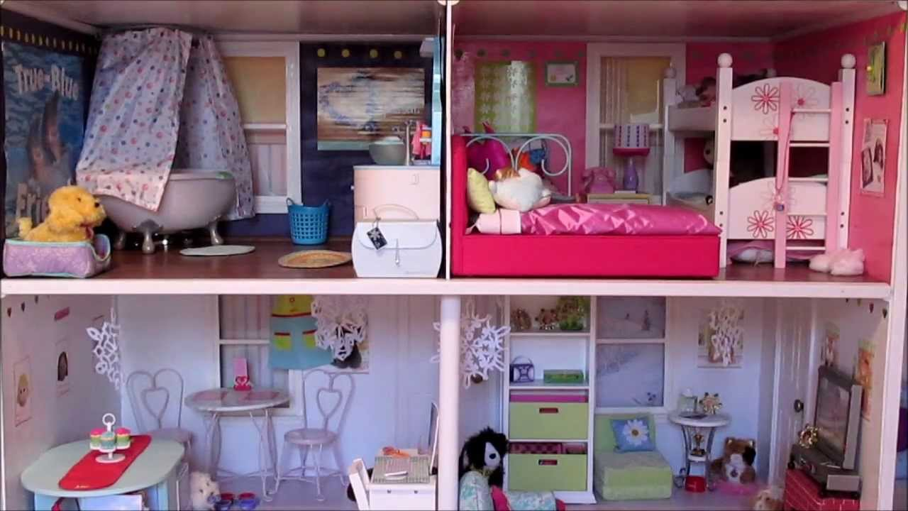 winter ag dollhouse tour - youtube