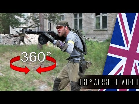 360° AIRSOFT ACTION Operation Frontline III (ENG/360 Video)