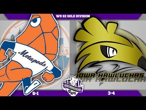 "New York Metapods vs Iowa Hawluchas!! NPA W9! ""His name is JOHN CENA!"" - Pokemon LIVE WIFI Battle"