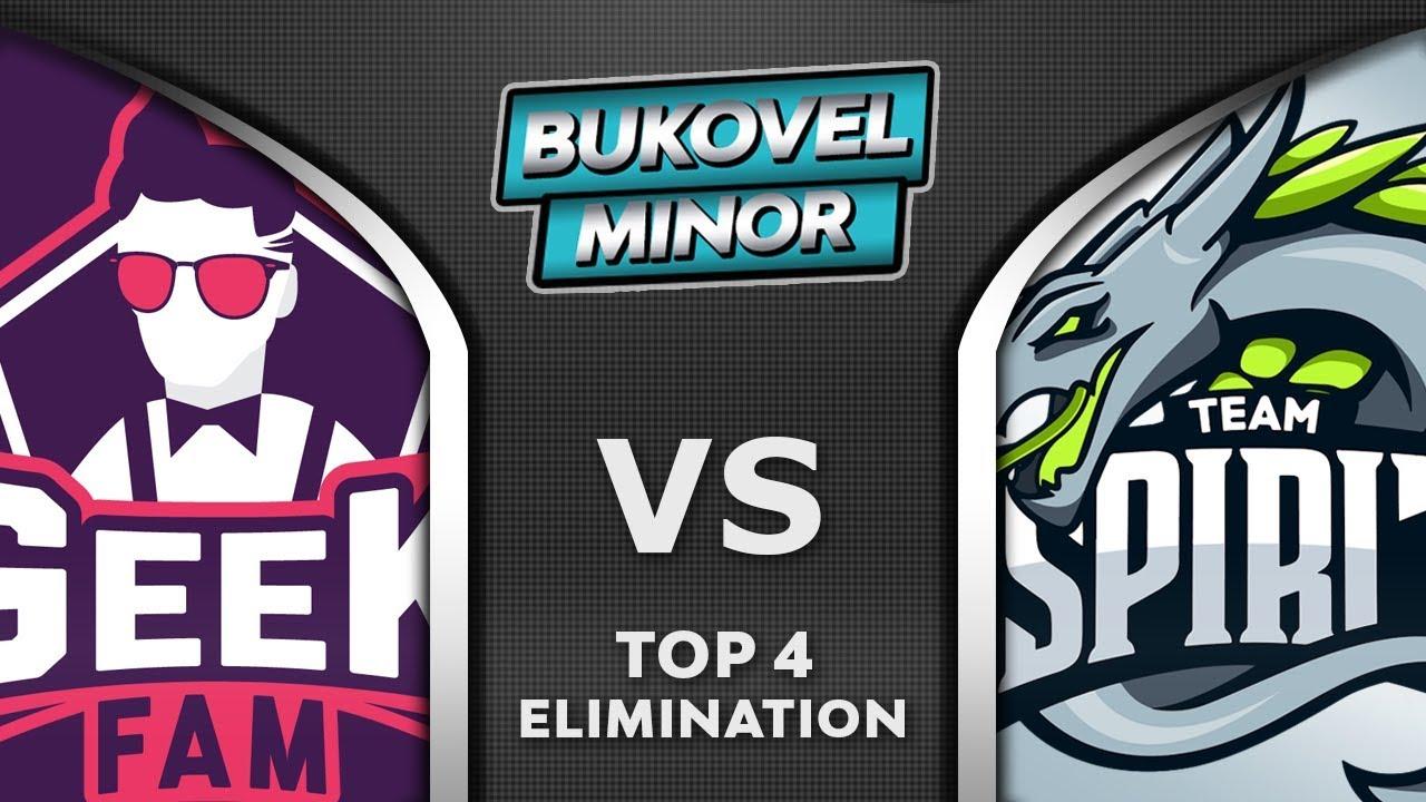 Geek Fam vs Spirit [TOP 4] Bukovel Minor 2020 Highlights Dota 2 thumbnail