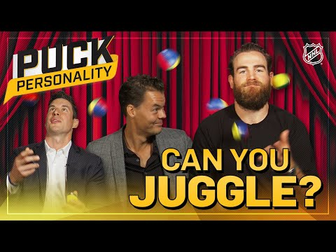 Can NHL Players Juggle? | Puck Personality