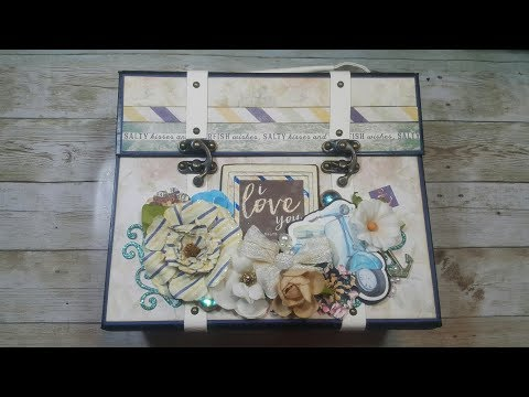 St Tropez Scrapbook Mini Album ( Design team project CCC )