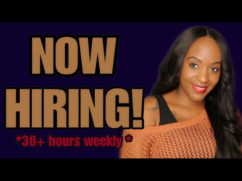 $17 Hourly Work From Home Job! 10-13-19 (act fast)