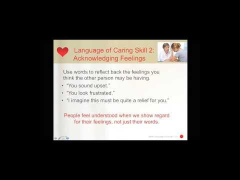 HMA Webinar Session: Improving the Patient Experience and Outcomes with the Language of Caring