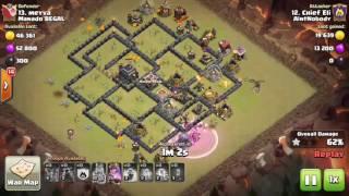 AintNobody vs Manado BEGAL   War Recap   Clash of Clans
