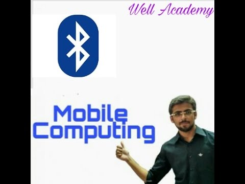 Mobile Computing Lecture - -Bluetooth Architecture easy explanation (Eng-Hindi)