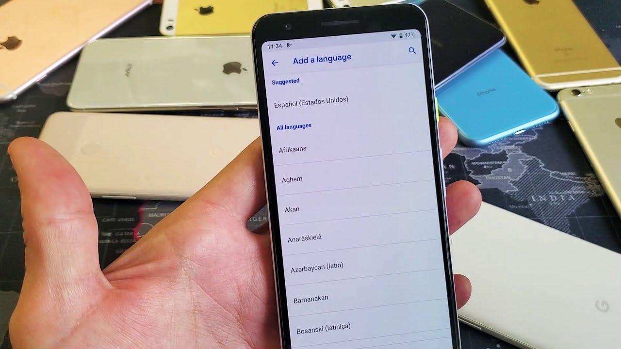 Google Pixel 3a / 3a XL Quick setting