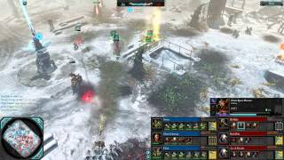 Dawn of War 2 - 3v3 | Noisy + Chaos Librarian + Floid [vs] DJ Raffa + Dark Riku + Ace of Swords