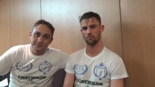 'I NEVER LOST A ROUND BUT IM NOT HAPPY' & TALKS WORKING WITH TRAINER GARY JACOBS - JAMES THOMPSON