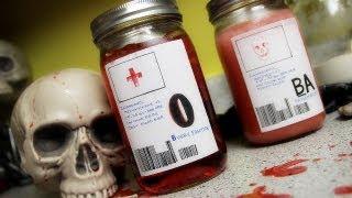 Bloody Mason Jar Juice!
