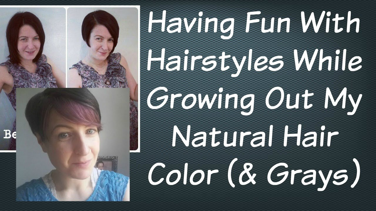 how to style hair while growing it out hairstyle ideas while growing out my hair color 8136