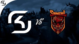 SK vs. Sangal  - LoL Highlights - Premier Tour 2018