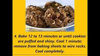 Recipe Baker's One Bowl Chocolate Blise Cookies