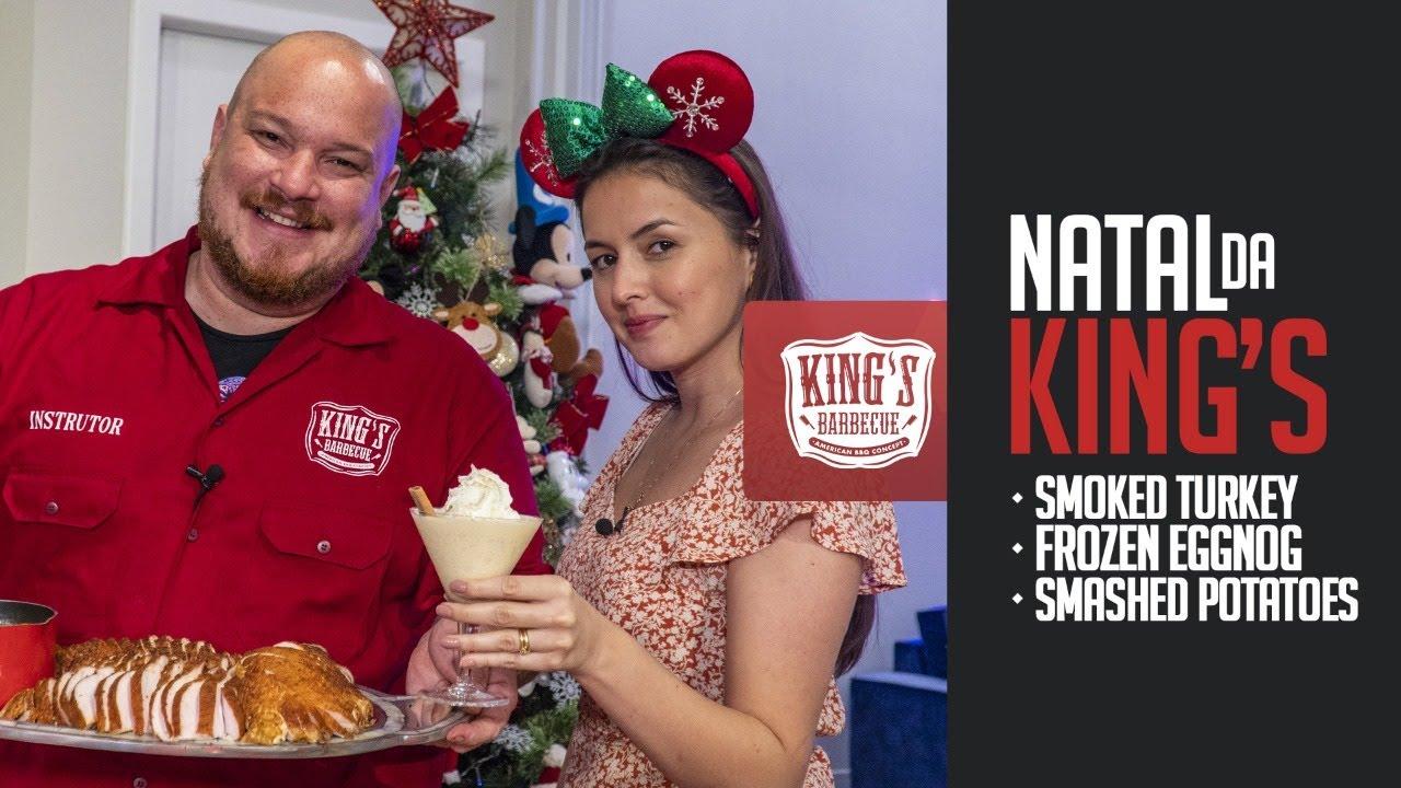 Natal americano da King's Barbecue