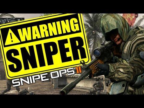 Black Ops 2 :: SNIPER!!! GET DOWN!!!! K9 Unit Vs Sniper Lobby!