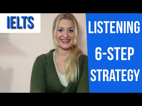 IELTS Listening: Tips for Completion tasks and 6-step strategy- english video