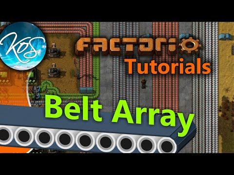 Download Youtube: Factorio Tutorials: Belt Array