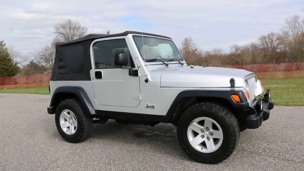 2004 jeep wrangler rubicon for sale soft top 5 speed 6 cd. Black Bedroom Furniture Sets. Home Design Ideas