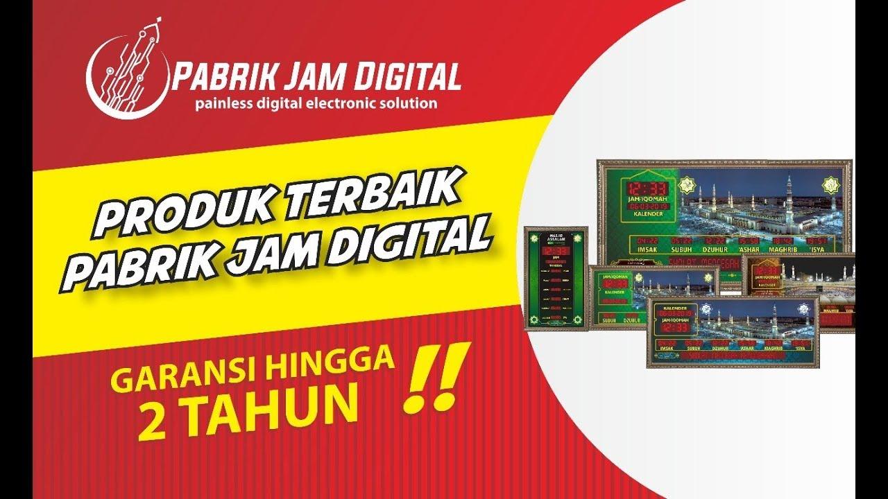Jam Digital Masjid | Produsen Jadwal Sholat Digital