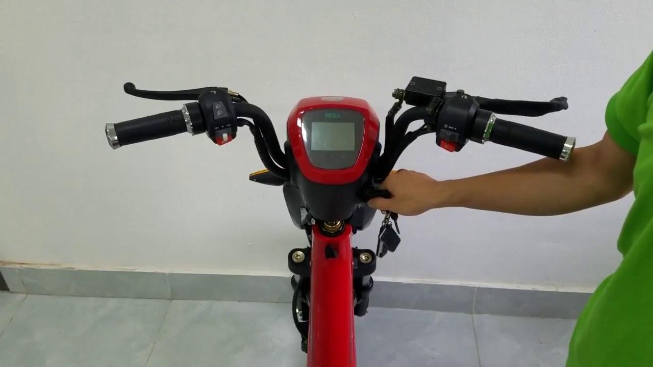 EMW electric scooter 250watts speed limit break - YouTube