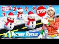 STOP & GO SNOWMAN Challenge *NEW* GAME MODE in Fortnite Battle Royale