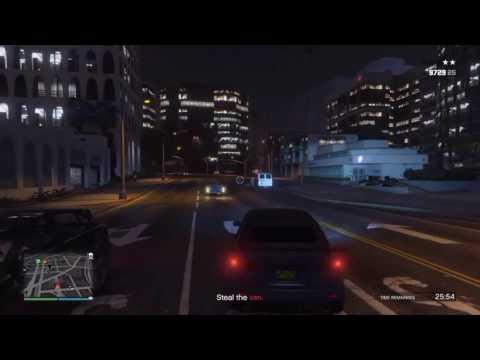 GTA 5 - Bikers - Protect business, police raid