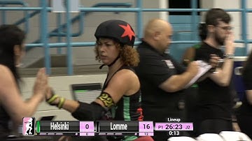 Helsinki vs Lomme - 2019 International WFTDA Playoffs: Winston-Salem Game 3