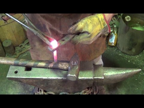 Blacksmithing - Language Alert - Need A Tool Make A Tool - Failure At Squaring Lag Heads