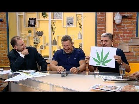 Frka u studiju sa Miroljubom Petrovicem / Legalizacija marihuane i astrologija (TV Happy 29.08.2018)
