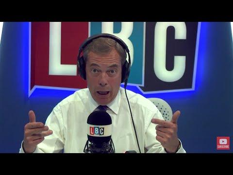 The Nigel Farage Show: London Fire - Tim Farron Resignation. Live LBC - 14th June 2017