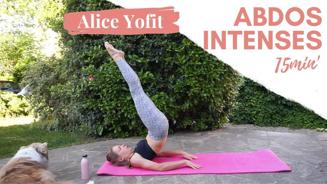 Séance de Yofit Abs Intenses 15 minutes !