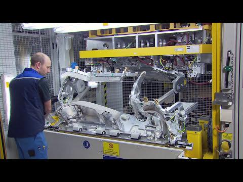 Cockpit BMW i production