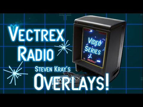 Vectrex Custom Reproduction Overlays!