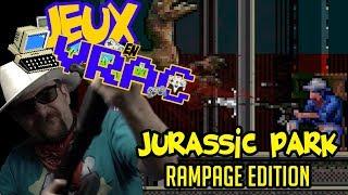 JEUX EN VRAC - JURASSIC PARK Rampage edition