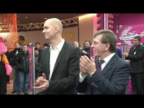 Открытие Media Markt в Санкт-Петербурге