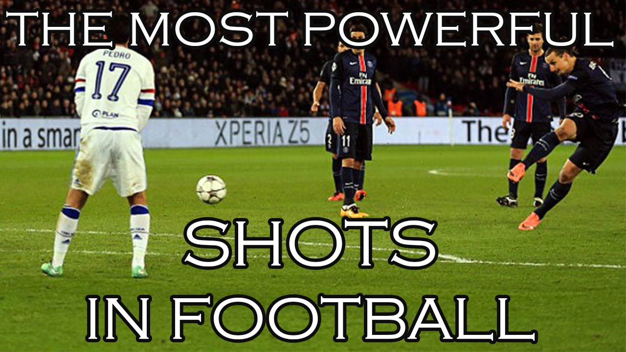 The strongest shots in football 43