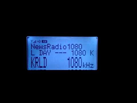 KRLD 1080 AM HD Radio from Dallas