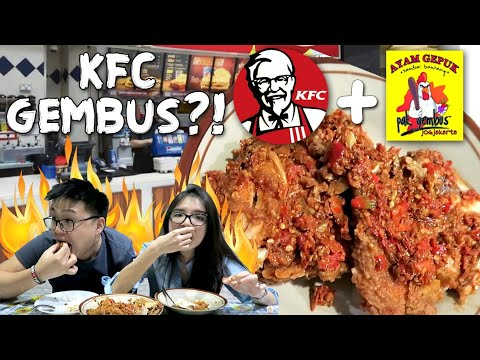 KFC GEPUK PAK GEMBUS !! Kolaborasi Extreme 2017!!!