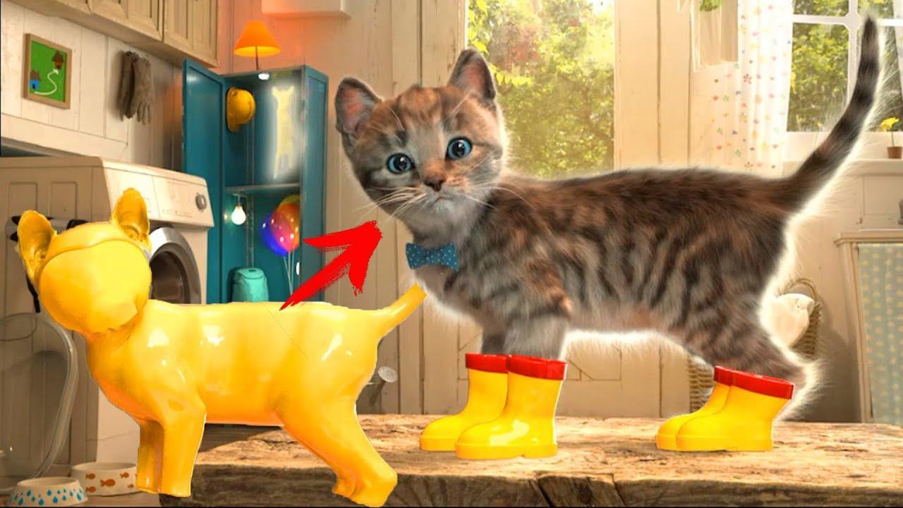 Permainan Anak Kucing Lucu Seru Terbaru My Little Kitten Game Youtube