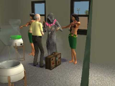 Sims 2 -Hula Zombie