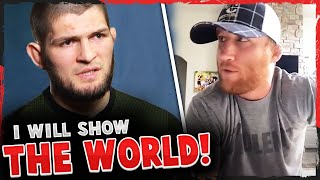 Khabib reacts to Justin Gaethje's 'zone of death' comments, Daniel Cormier on Khabib vs GSP, UFC 252