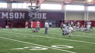 See how the Alabama QBs looked at Thursday's practice