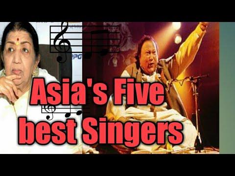 Top Five Singers of Asia(Top Five)