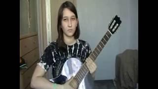Разбор на гитаре Враг (Кошка Сашка) два вида боя