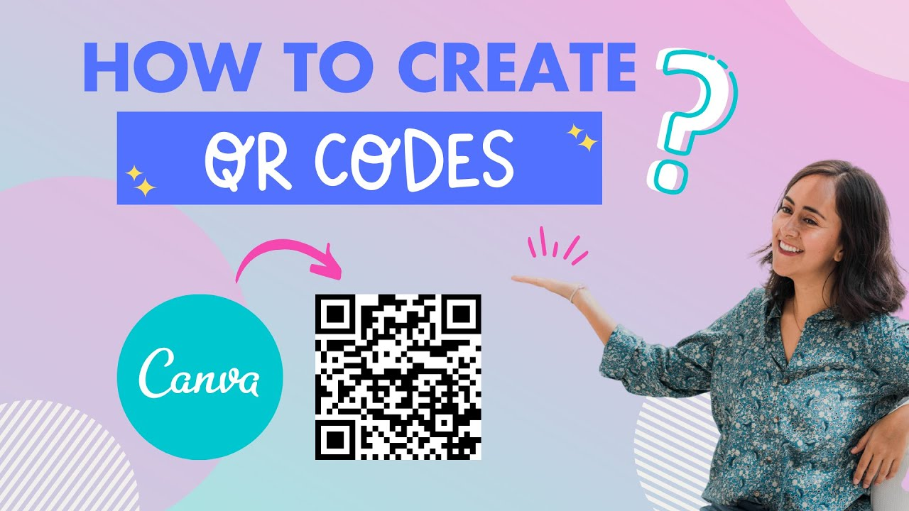 How To Create Qr Codes In Canva Under 2 Minutes Learn Canva With Diana Youtube