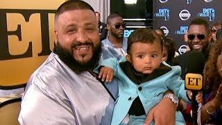 DJ Khaled's Son Asahd Adorably Steals the Show While Twinning With Gucci Mane at BET Awards