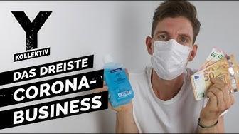 Corona-Business: Wie Abzocker am Coronavirus verdienen